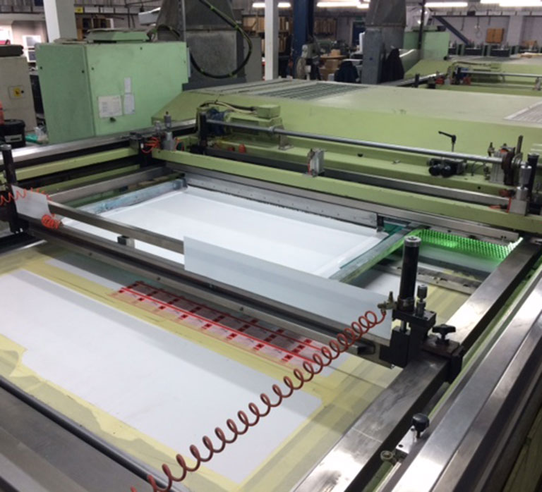 Sias 2 Colour Flatbed Screen Press