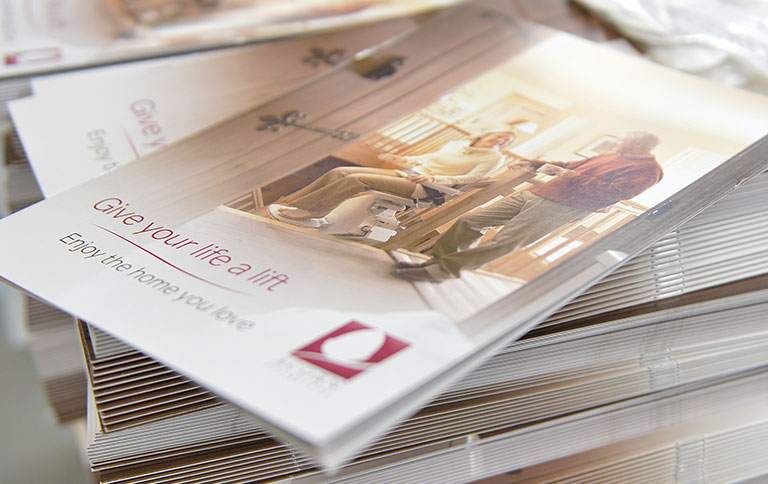 Brochures, leaflets and flyers