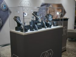 LUX exhibition stand
