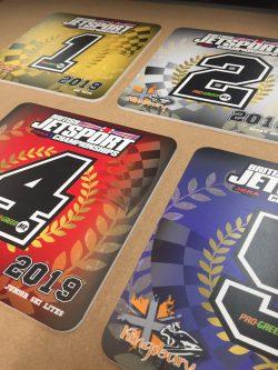 jet sport trophy board